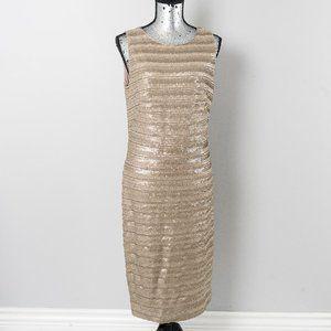NWT Lauren Ralph Lauren Metallic dress - sz 12